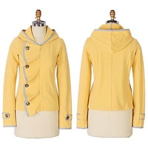 Saturday Sunday Off Kilter Yellow Jacket Anthro S